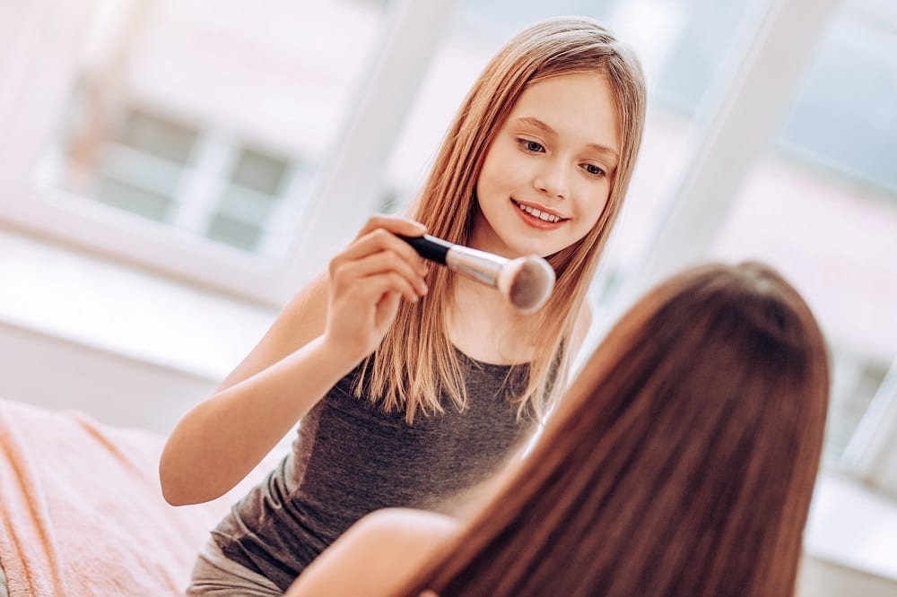 Can my child use my makeup or do I need to buy her a kids makeup kit?